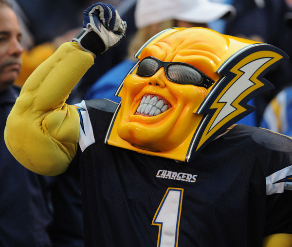 San Diego Chargers Costume: The Worst Mascots In College Sports